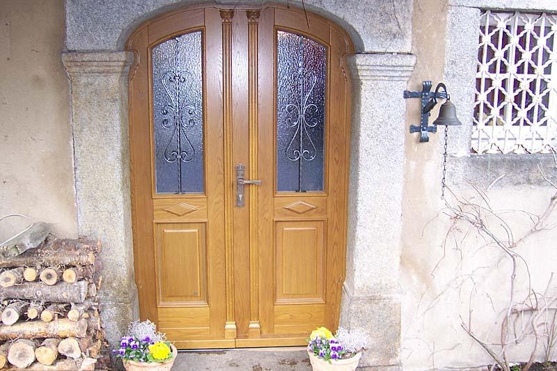 Haustüren holz bauernhaus  Türen und Haustüren aus Holz - Oberlausitzer Haustüren