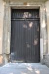 1 - Die alte Tür der Kirche in Seifhennersdorf
