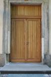 2 - Die neue Tür der Kirche in Seifhennersdorf