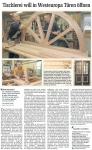 2 - Sächsische Zeitung 13.07.2011 - Tischlerei will in Westeuropa Türen öffnen