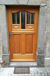 Außenansicht der neuen Tür, Modell Königsholz