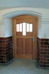 Innenansicht der neuen Tür, Modell Königsholz